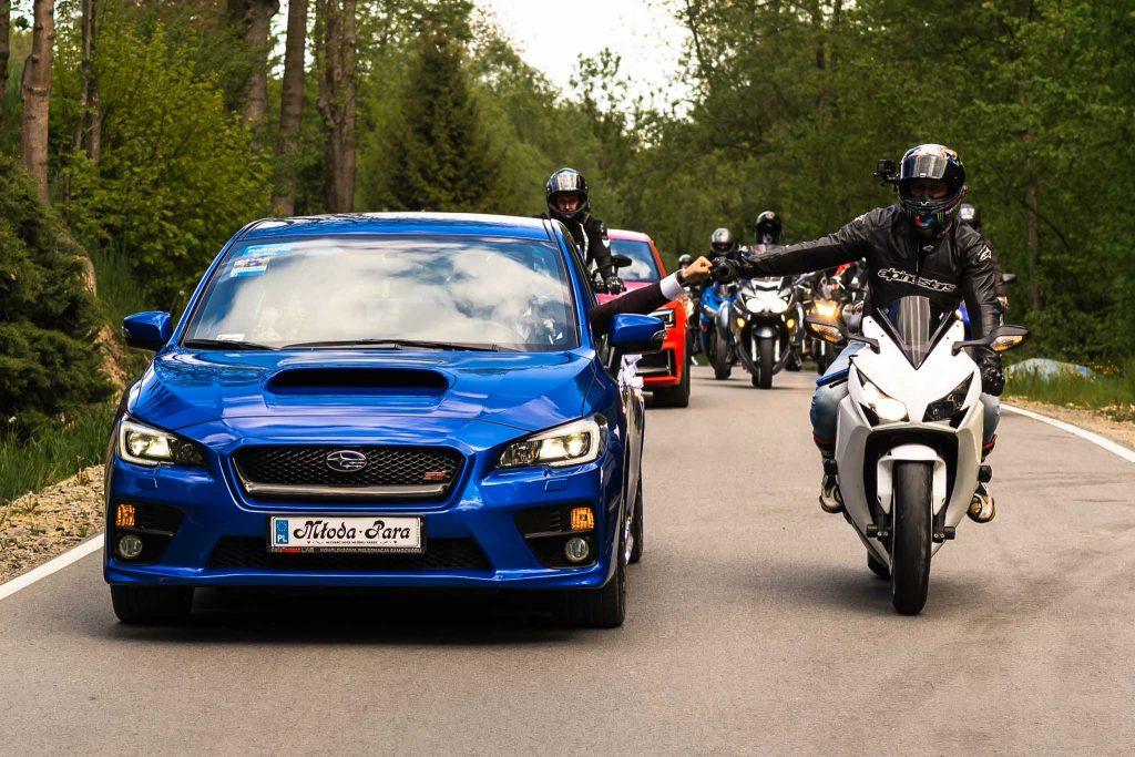 Ślub motocyklowy obstawa motocyklowa