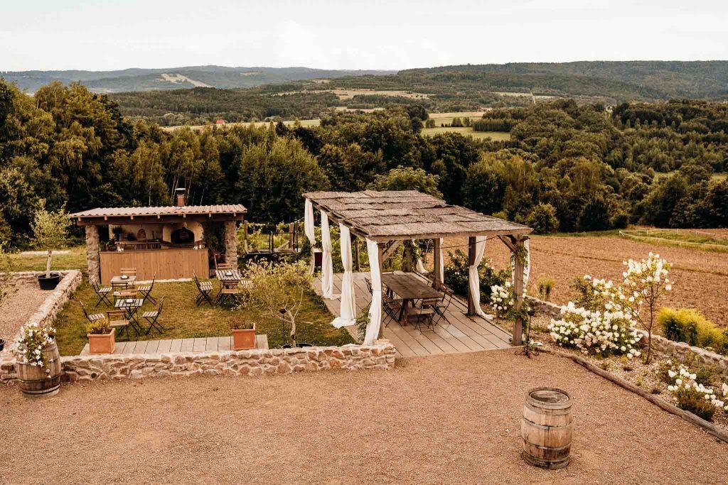 villa love polska toskania widok