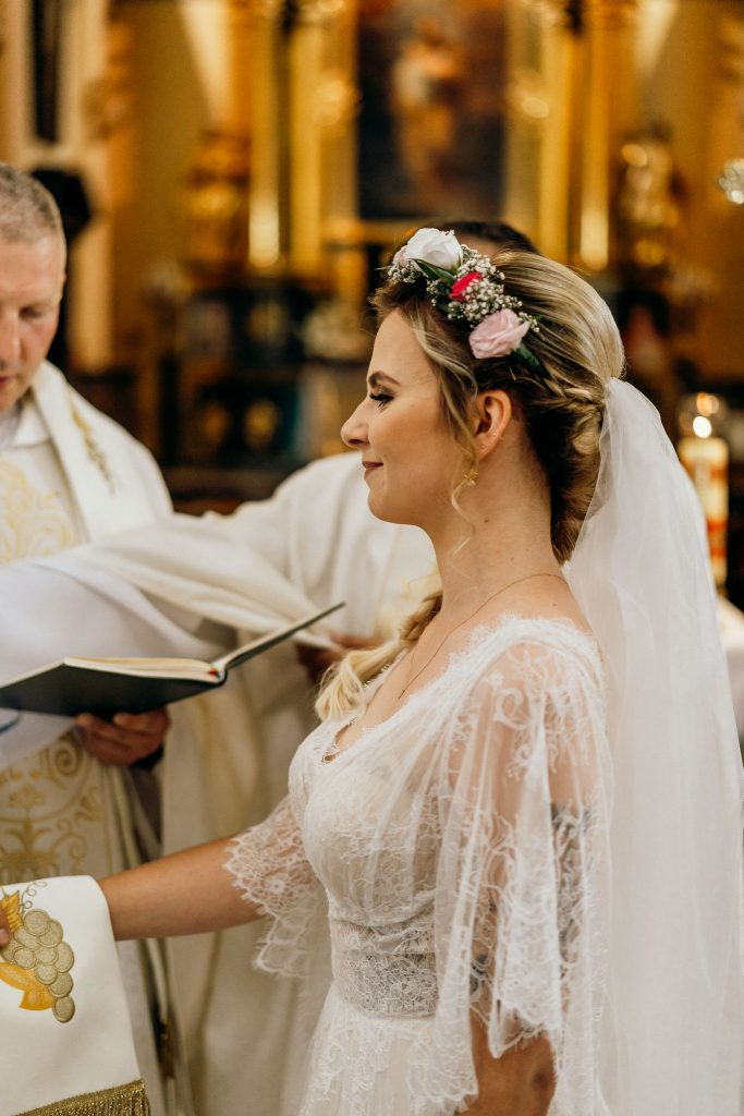 pani młoda ceremonia ślubna